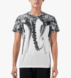 OCTOPUS White S/S Poly T-Shirt Model Picutre