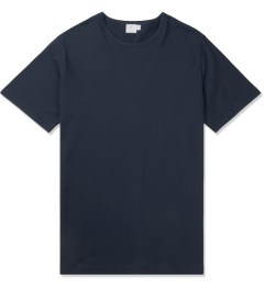 SUNSPEL Navy S/S Crewneck T-Shirt Picture