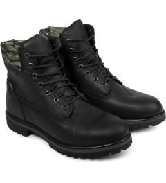 Black Scale Timberland x Black Scale Black 6-inch Premium Boots Model Picture