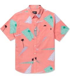 HUF Peach 1986 S/S Woven Shirt Picutre