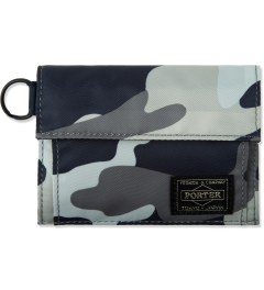 Head Porter Navy Jungle Wallet Picture
