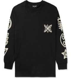 Lazy Oaf Black Zombie L/S T-Shirt Picture