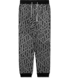 The Quiet Life Black/White Rope Jogger Pants Picture