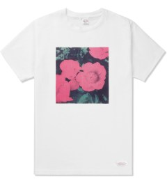 Deluxe White Flowers T-Shirt Picture
