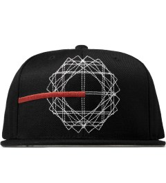Black Scale Black Creation Map Snapback Cap Picture