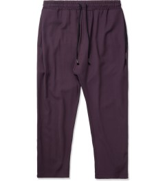 SILENT Damir Doma Maroon Paleo 3/4 Trousers Picture