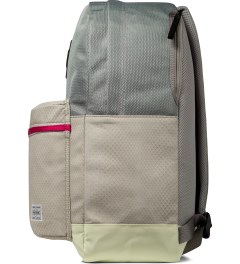 MAGIC STICK PORTER x MAGIC STICK Grey YEEZY Backpack Model Picture