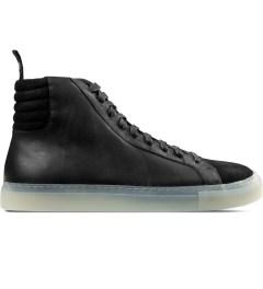 SILENT Damir Doma Black Fulmar Hi Top Sneakers Picture