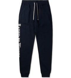 Raised by Wolves Navy Logotype Sweatpants Picutre