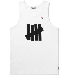 Undefeated White Five Strike Tank Top Picture