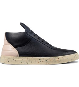 Filling Pieces Blue Ice/Speckle Sole Mid Top Sneakers Picture