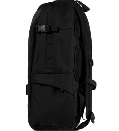 Marcelo Burlon Eastpak x Marcelo Burlon Black Nylon Backpack Model Picture