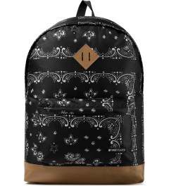 Undefeated Black Bandana Backpack Picutre