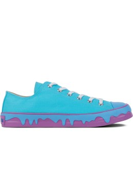 ICECREAM Light Blue Drippy Sneakers Picture