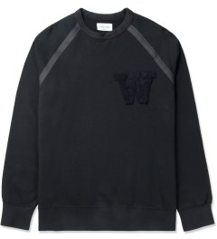 Wood Wood Dark Navy James Sweater Picture