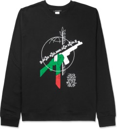 Black Scale Black RBG Revolution Crewneck Sweater Picture