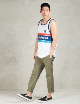 UNDEFEATED White Pista Tank Top Picture
