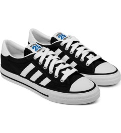 adidas Originals adidas Originals by NIGO Black Shooting Star Low Top Sneakers Model Picture
