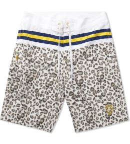 Stussy White Rich Cat 10.5 Trunk Picture