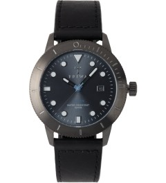 TRIWA Black Sewn Classic Walter Hvalen Watch Picture