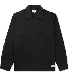 Grind London Black Cotton Harrington Jacket Picture