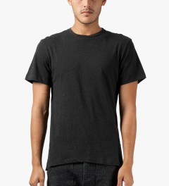 CLOT Black Fish Tail Layer T-Shirt Model Picture