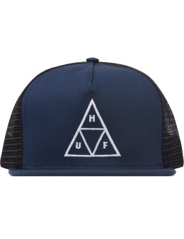 HUF Sax Navy Triple Triangel Trucker Picture