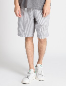 HUF Black Seersucker Easy Shorts Picture