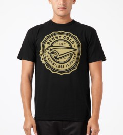Benny Gold Black Book Plane T-Shirt Model Picture