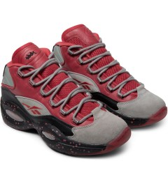 Reebok STASH x Reebok Carbon/Red/Black V61040 Question Mid Shoes Model Picture