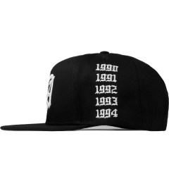 Stampd Black LA Golden Era Snapback Cap Model Picture