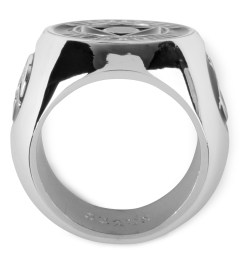 Black Scale Silver Citizen Ring Model Picture