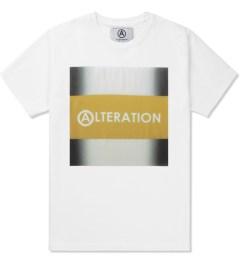 U.S. Alteration White AS14 Yellow Stripe T-Shirt Picutre