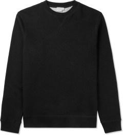 SUNSPEL Black Sweat Top Sweater Picutre