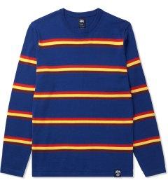 Stussy Blue Mason Sweater Picutre