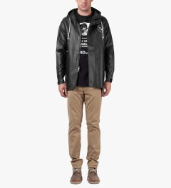 SATURDAYS Surf NYC Black Walter Jacket Model Picutre