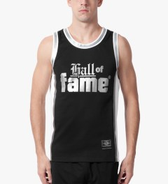 Hall of Fame Black Nix Basketball Jersey Model Picture