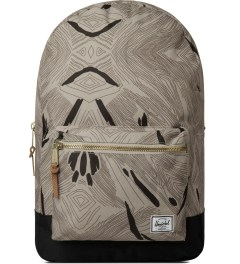 Herschel Supply Co. Geo/Black Settlement Backpack Picutre