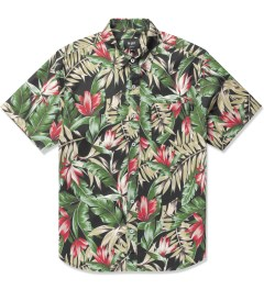 HUF Black Waikiki S/S Woven Shirt Picutre