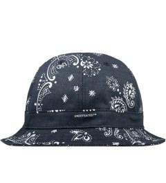 Undefeated Navy Bandana Bucket Hat Picutre
