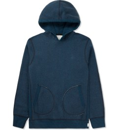 Reigning Champ Navy/Pacific RC-3258 Tiger Fleece L/S Pullover Hoodie Picture