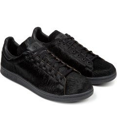 adidas Originals Opening Ceremony x Adidas Originals Black Pony Stan Smith Sneakers Model Picture