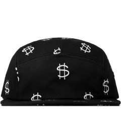 Stussy Black Money Camp Cap Picutre