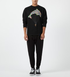 Odd Future Black Jasper Balloon Crewneck Sweater Model Picture