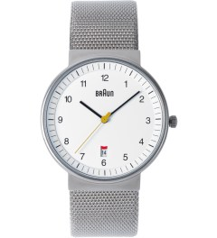 Braun White BN0032WHSLMHG Watch Picture
