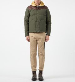 Penfield Lichen Rockwool Down Insulated Jacket Model Picture
