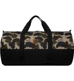 Carhartt WORK IN PROGRESS Camo Mitchell/Black Adams Duffle Bag Picutre