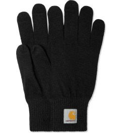 Carhartt WORK IN PROGRESS Black Touch Screen Gloves Picutre