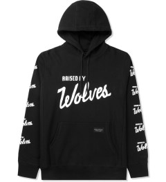 Raised by Wolves Black Varsity Pullover hoodie Picture