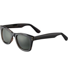KOMONO Black Turquoise Allen Sunglasses Model Picture
